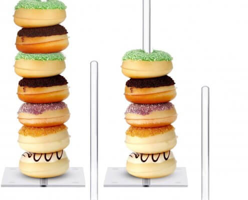 acrylic donut stand manufacturer