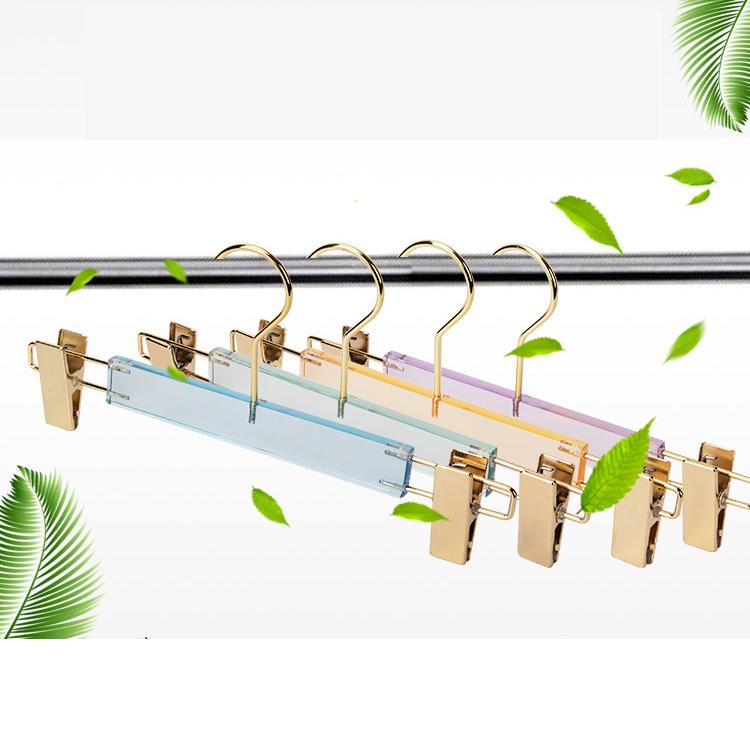 Acrylic Hangers Wholesale Dress Pants Hangers