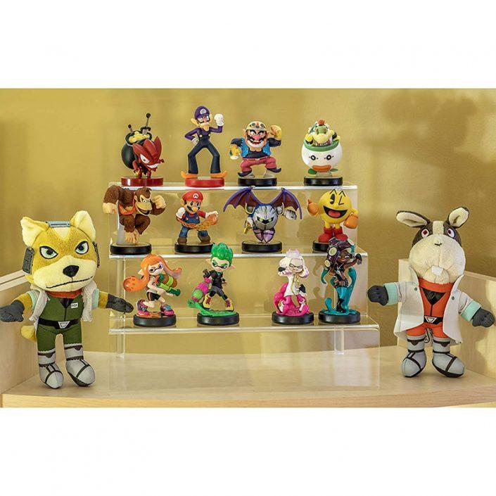 Clear Funko Pops Figures 3 Steps Acrylic Riser Display Stand Shelf -3