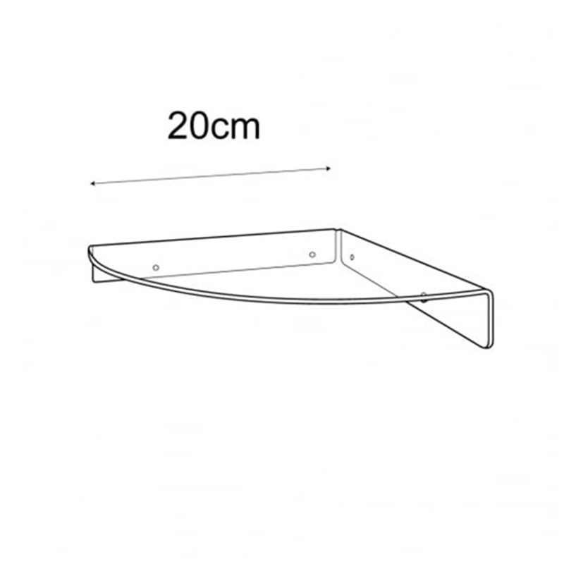 acrylic corner shelf manufacturers acrylic house shelf