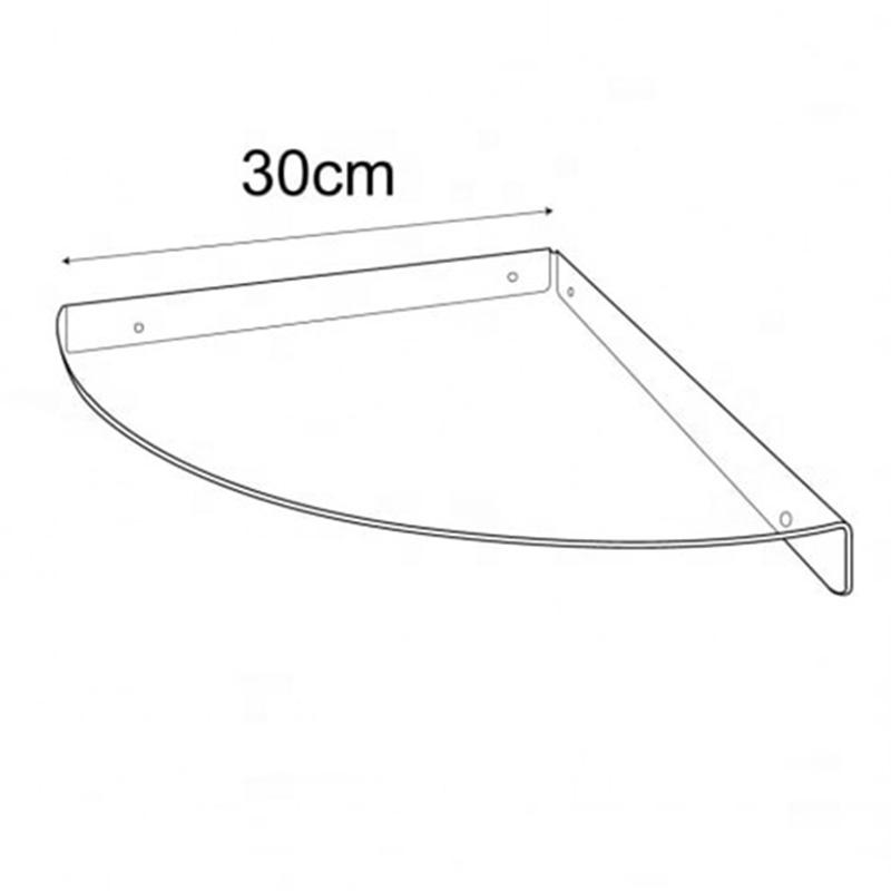 acrylic shelf for slatwall acrylic shelf bathroom