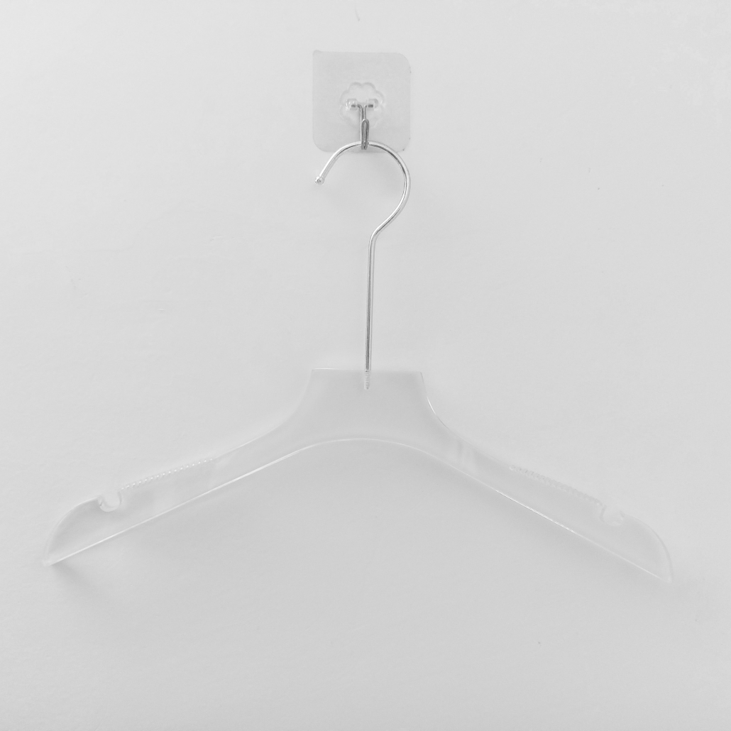 Acrylic Hanger With Slip-Proof Notched Arms 4