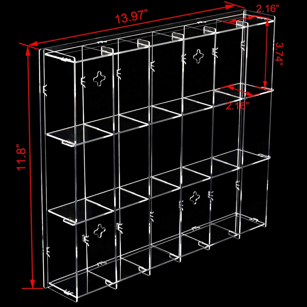 Assembly Acrylic Wall-Mounted Display Case wholesale