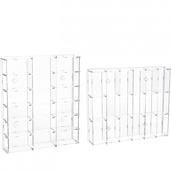 custom Assembly Acrylic Wall-Mounted Display Case