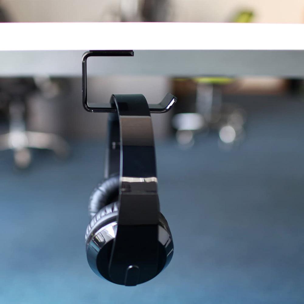 4x2x2 Wall Mount Acrylic Headphone Holder Hanger Factory