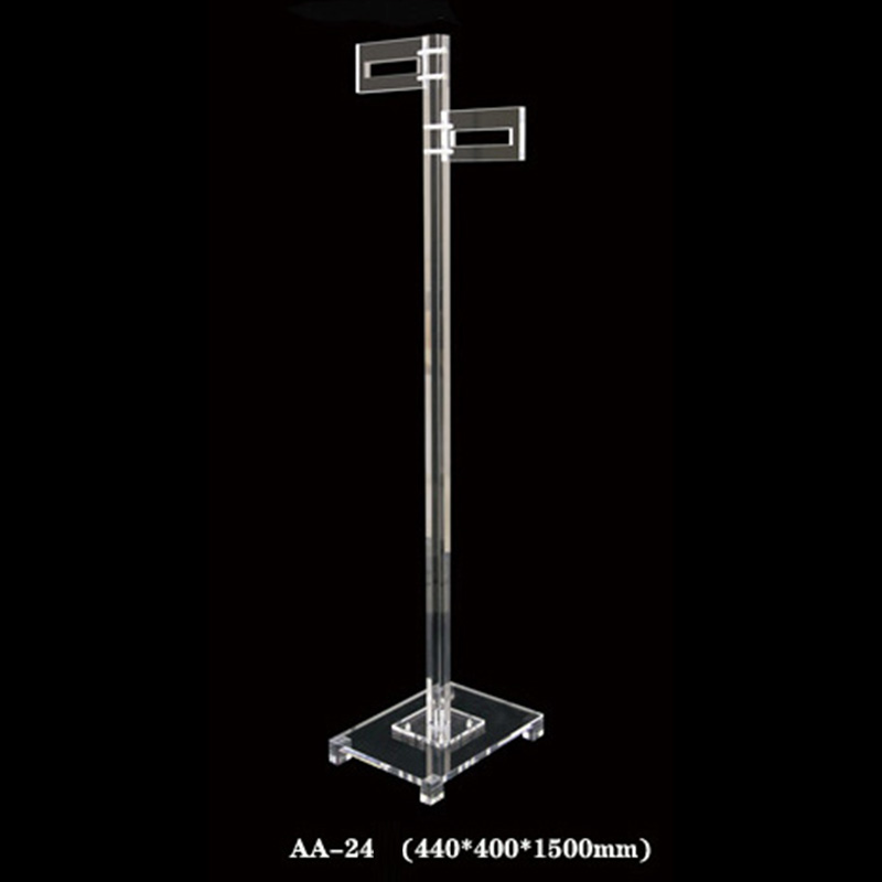AA-24 Vertical Acrylic Clothes Rack