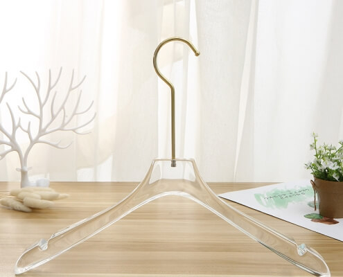 ACH16 - 23mm Thick Acrylic Hanger For Women's Clothes