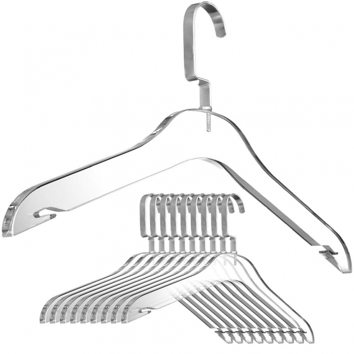 clear acrylic hangers wholesale clothes hangers