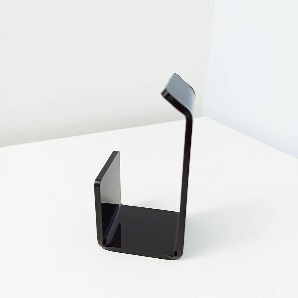 Universal 4x2x2 Wall Mount Acrylic Headphone Holder Hanger