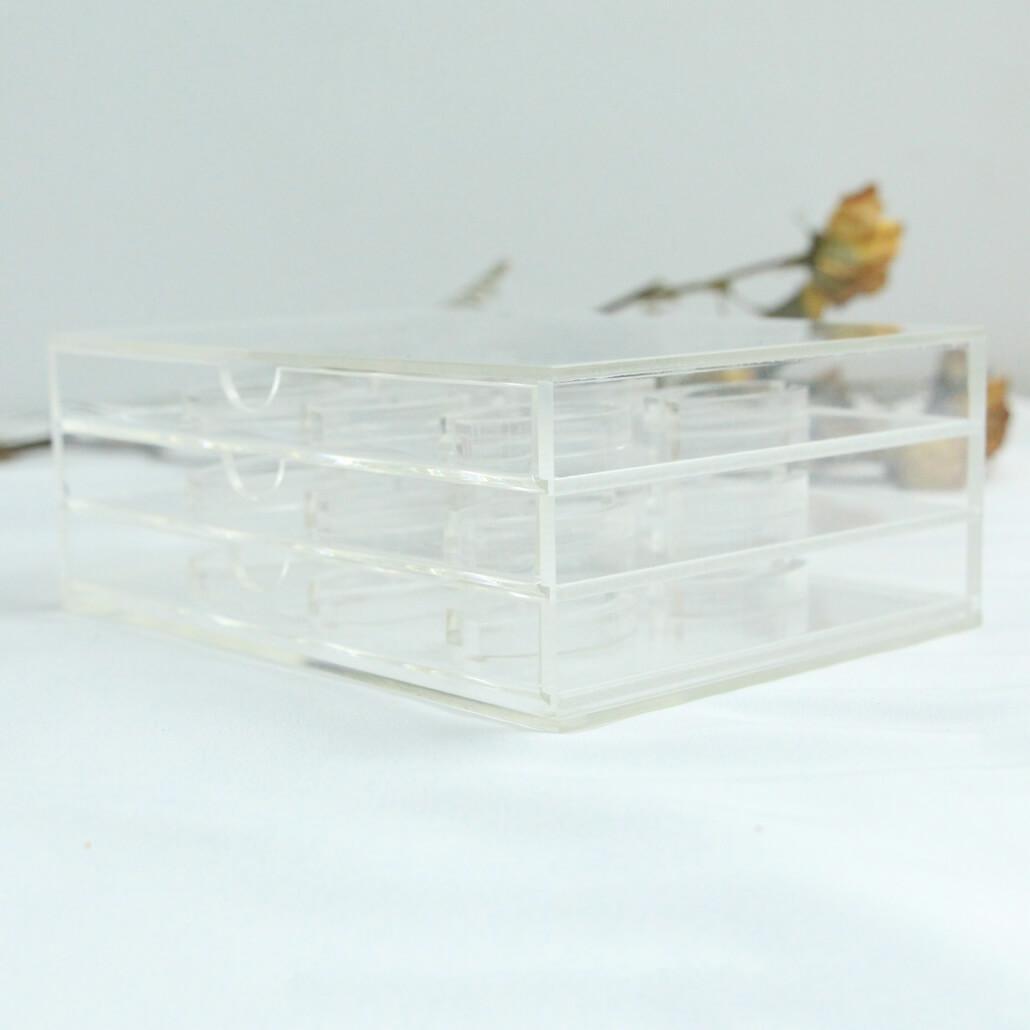 acrylic eyelashes box custom private label wholesale manufacturer