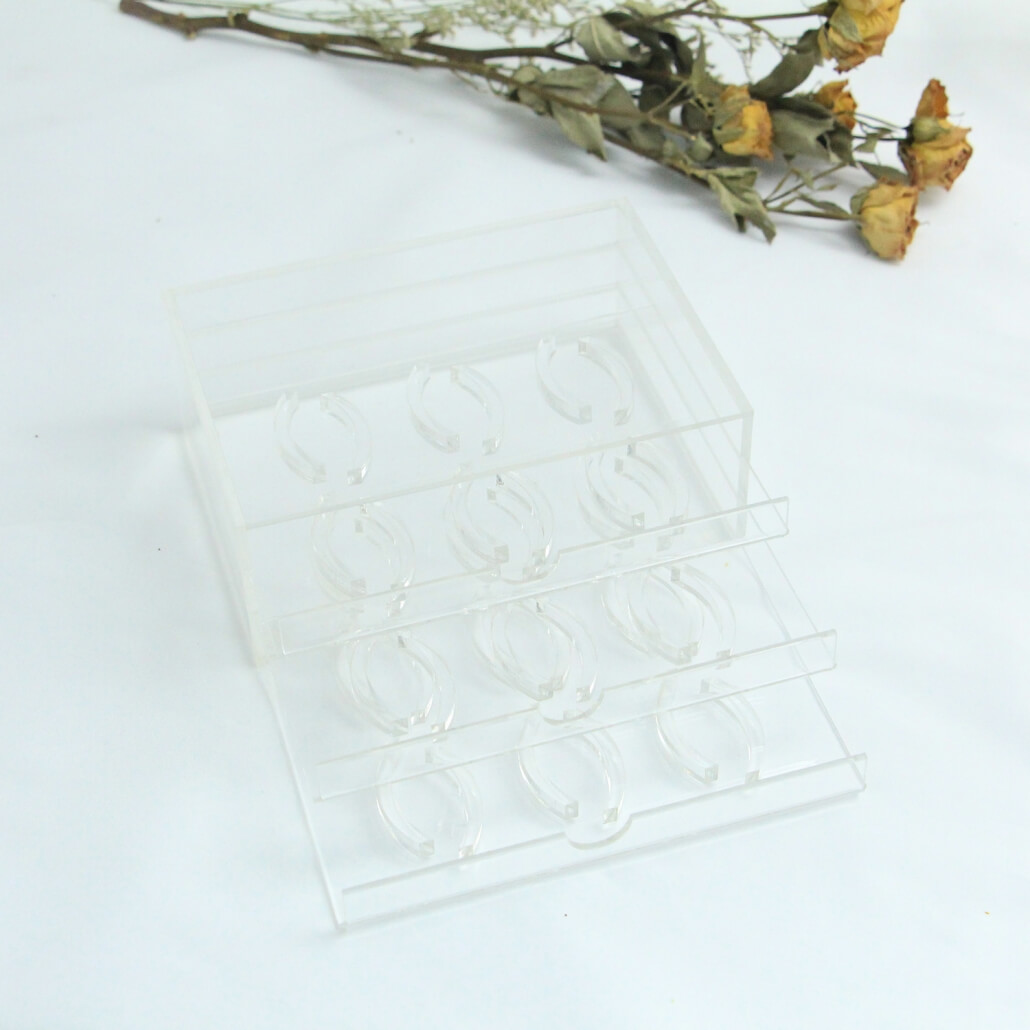 acrylic false lashes box display drawer