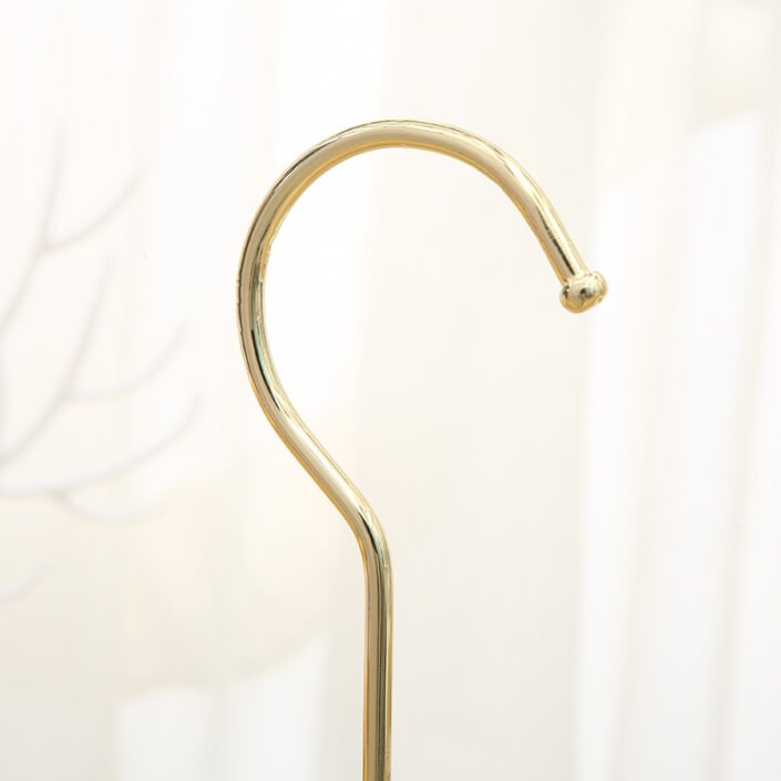 high quality metal hook golden and chrome optional