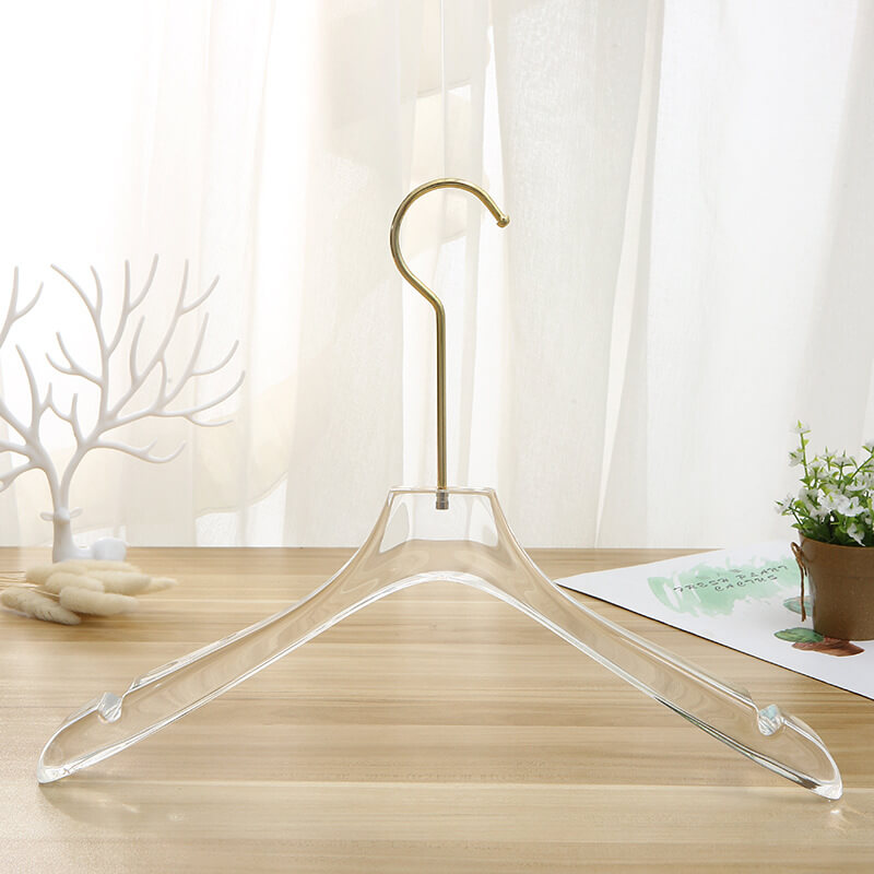 thickened clear acrylic hanger lucite hanger wholesale