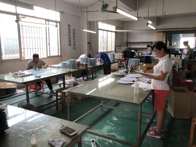 production line of Chinov display