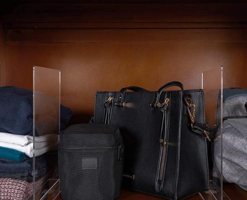 acrylic shelf divider 8x10 acrylic shelf dividers for purses
