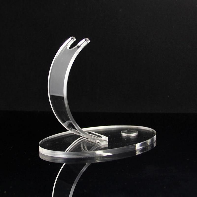 C shape acrylic display stand