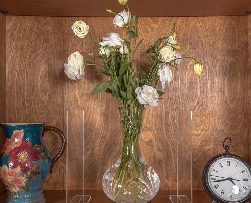 acrylic shelf divider acrylic shelf dividers for living room