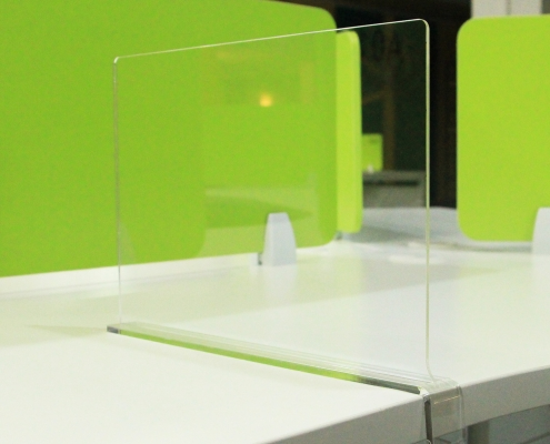 acrylic shelf dividers to separate large shelves