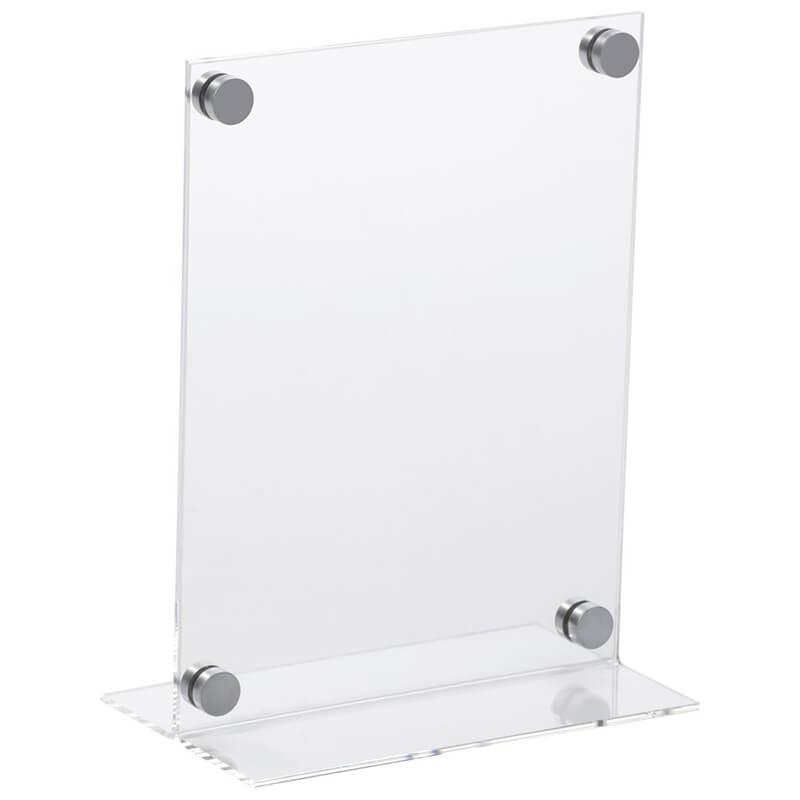 acrylic display stand t shape acrylic display stand