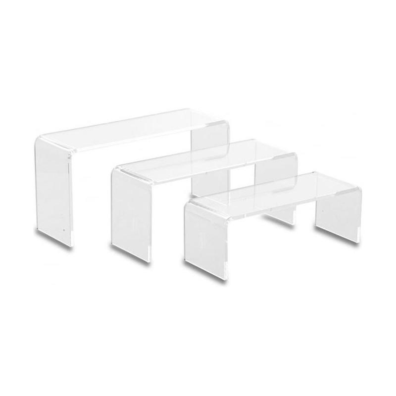 u shape acrylic display stand