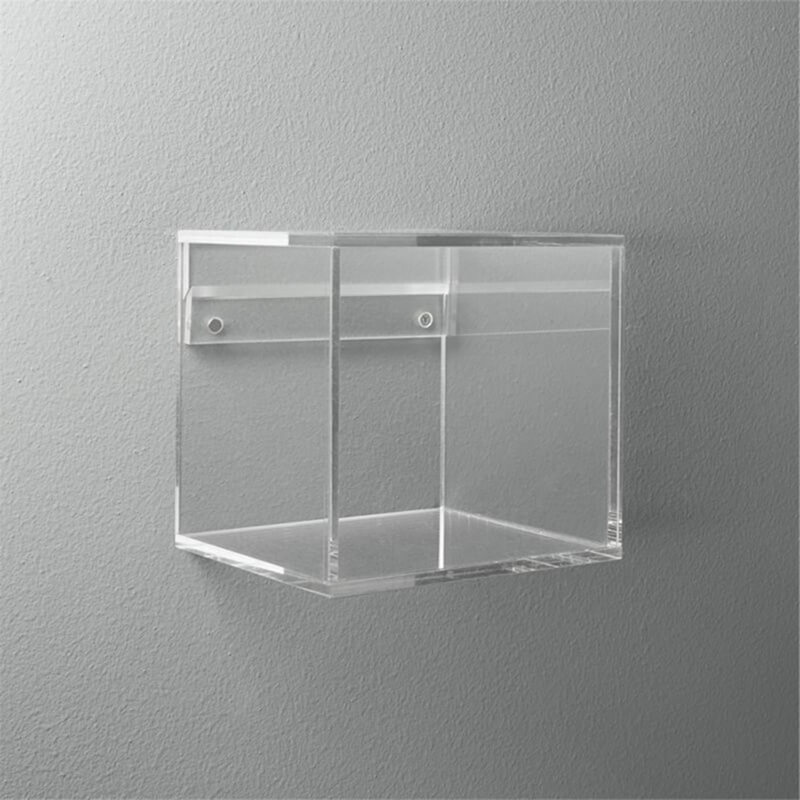 wall mounted acrylic display stand case