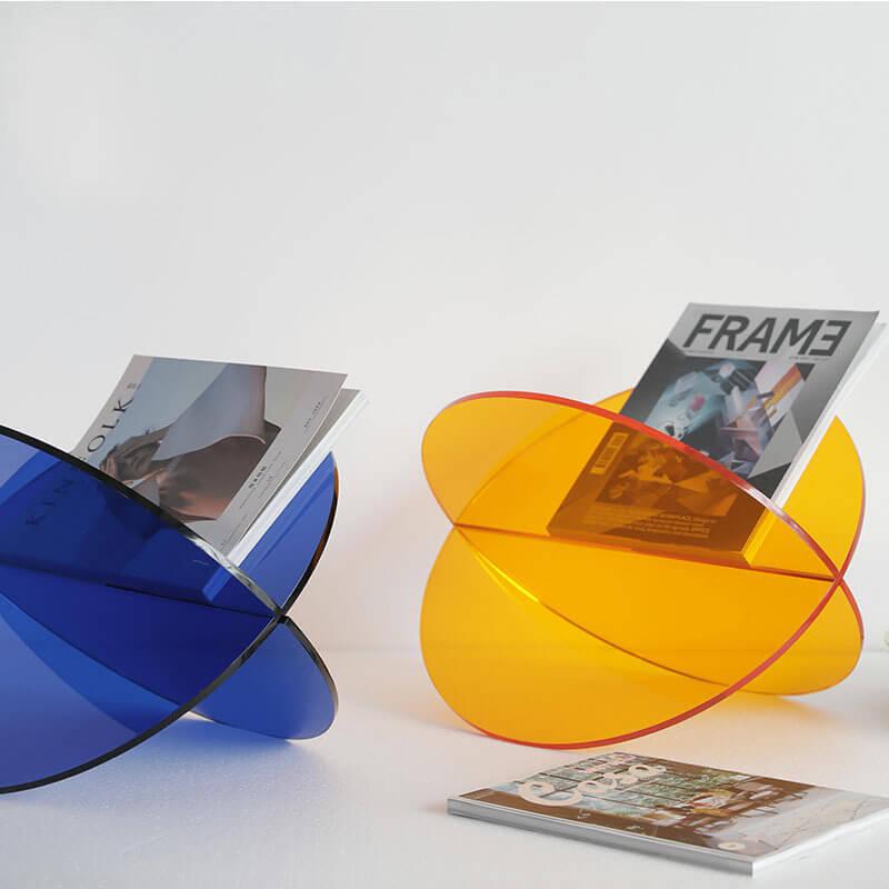 x shape acrylic display stand