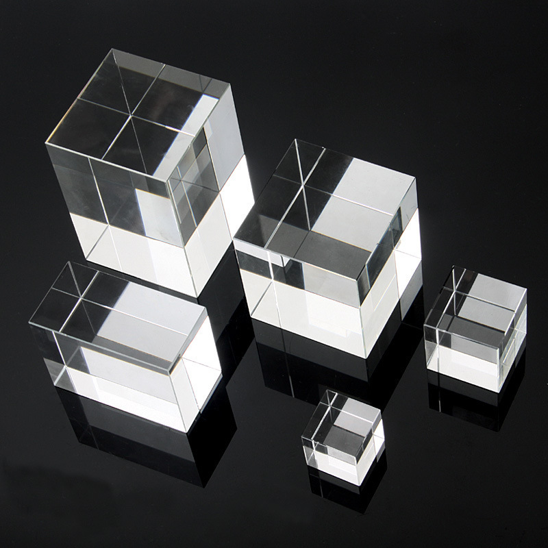 acrylic cube blocks