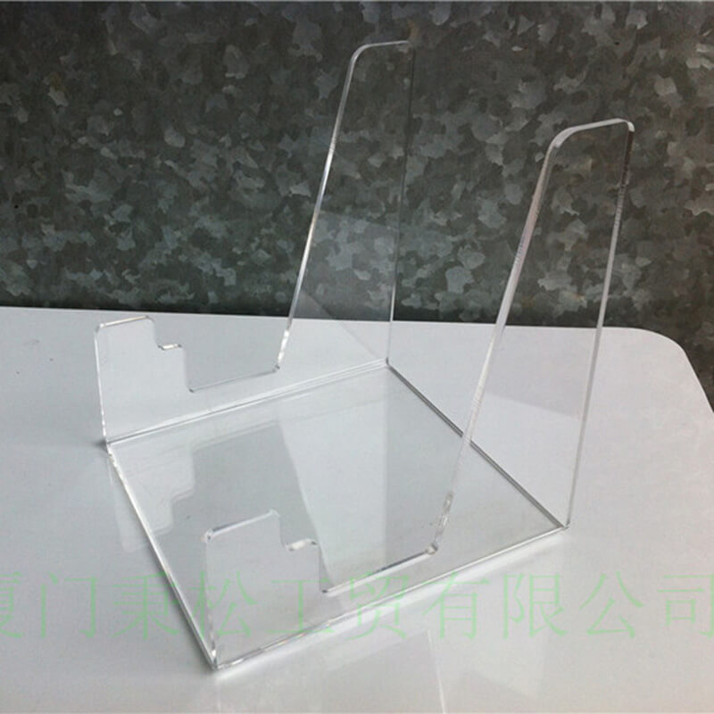 lucite plate display stands