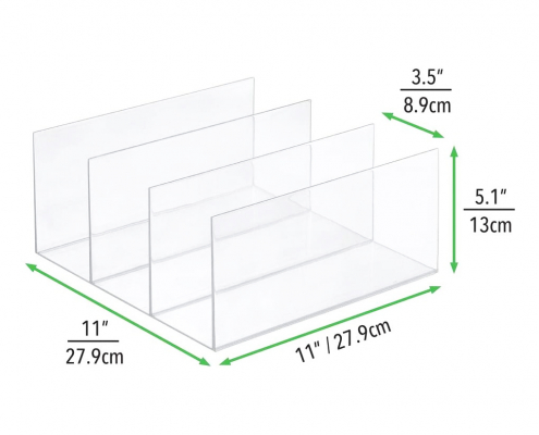 acrylic display stands for plates acrylic divider stand for plates