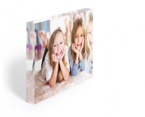 acrylic photo block by UV print