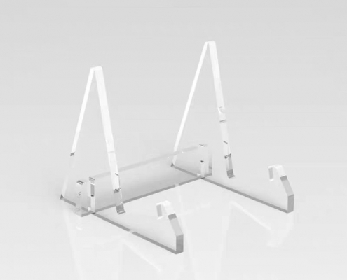 clear acrylic display stands for plates