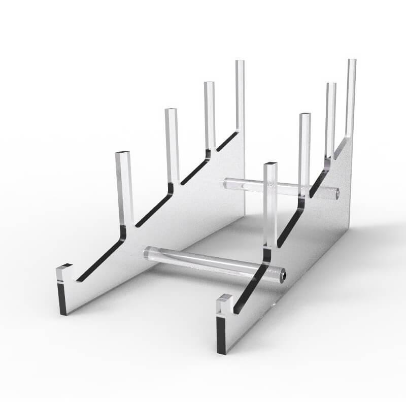 acrylic plate stand display