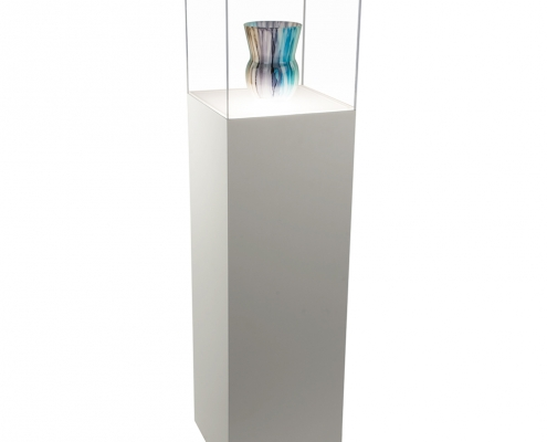 large acrylic cube for museum and art gallery