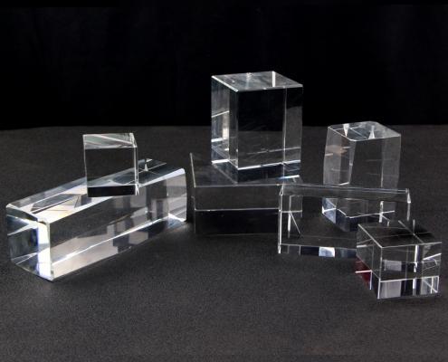 perspex blocks