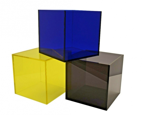 perspex display cubes colored acrylic blocks wholesale