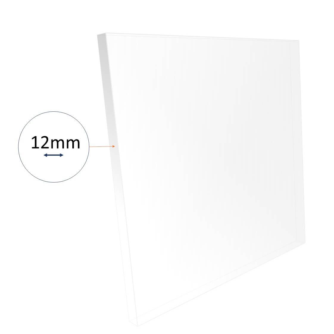 12mm acrylic sheet cut to size