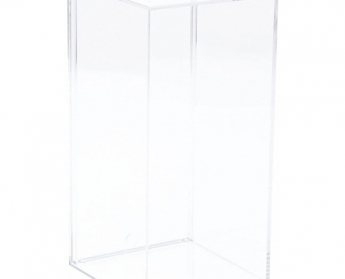 Clear Acrylic Display Case For Model Cars - 20 x 9.6 x 9.8 cm -1