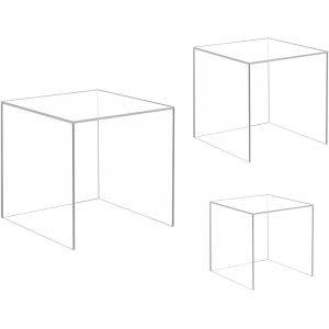 4 Sided Acrylic Display Case For Collectibles & Statues