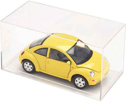Clear Acrylic Display Case For Model Cars - 20 x 9.6 x 9.8 cm -2