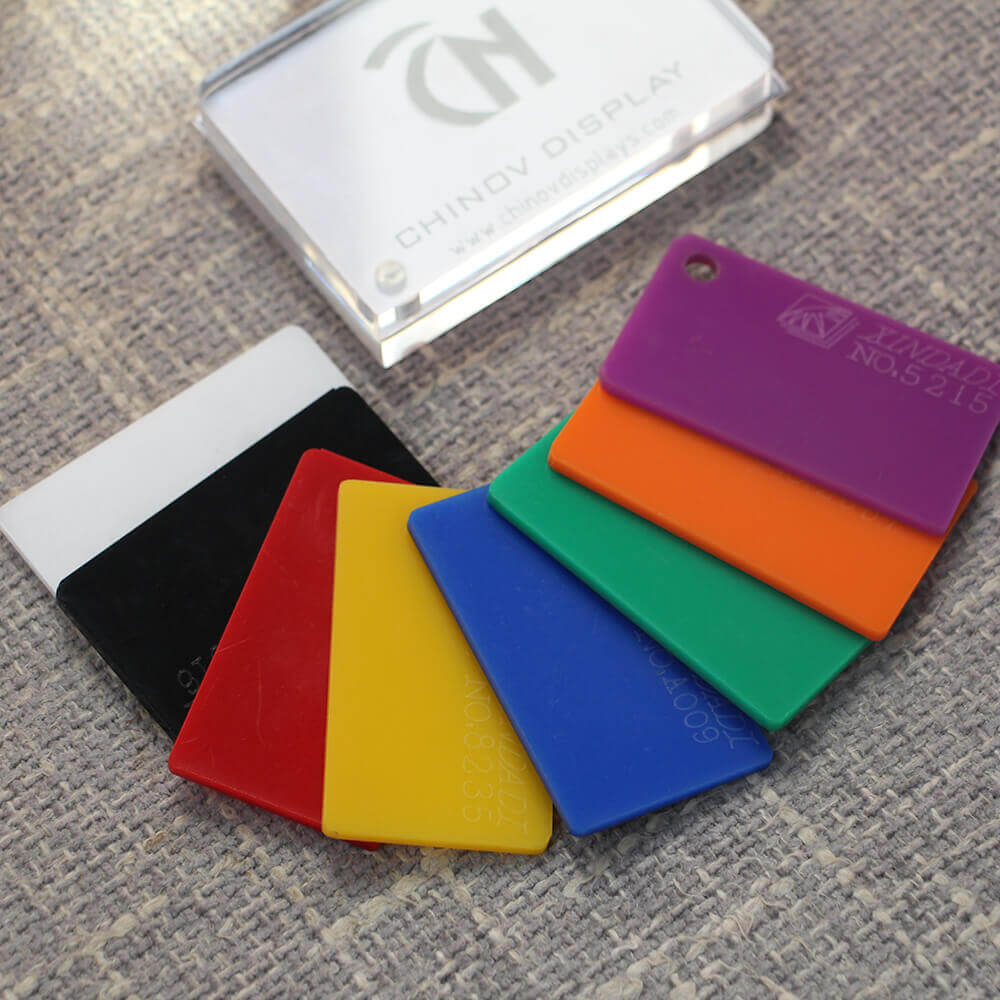 coloured acrylic sheet cut to size