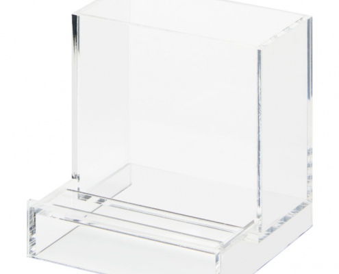 Acrylic Tabletop Organizer Stand For Pen & Smartphone-2