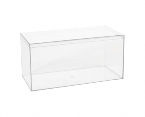 "Lucite Organizer Boxes for Gifts - 4"" × 4"" × 8""-1"