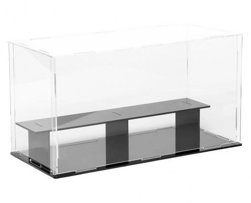 """3 Tier Acrylic Countertop Display Case - 9.4""""× 5.5"""" × 6.3""""-2"""