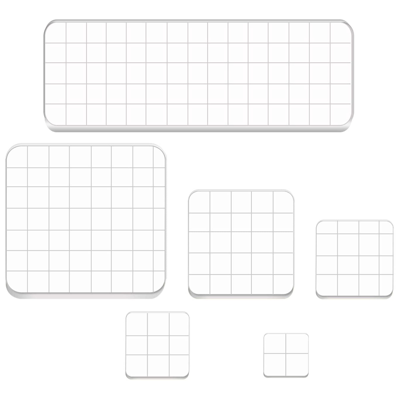 Acrylic Clear Stamping Blocks