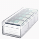 Acrylic Cards Organizer Box - 5 Dividers