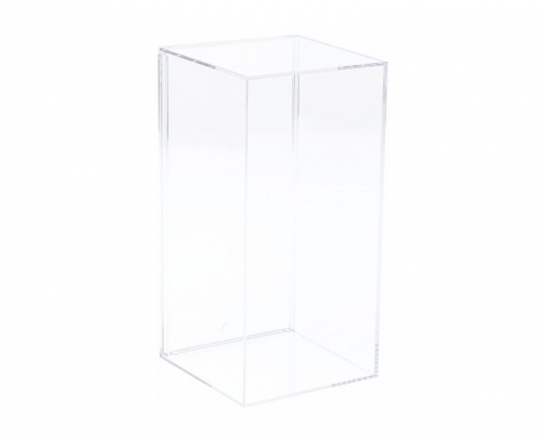 Clear Acrylic Display Case For Mold - 20 × 10 × 10 cm-2