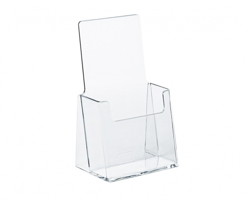 Acrylic Brochure Holder Stand - Single
