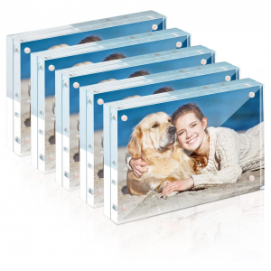 """Rectangule Acrylic Magnetic Picture Frame - 4"""" × 6"""""""