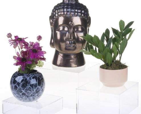 Acrylic Cube Display Nesting Risers-1