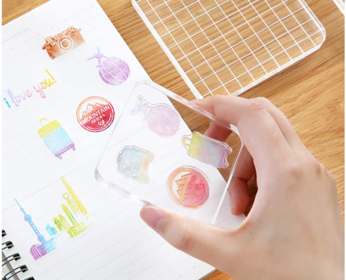 Acrylic Clear Stamping Blocks-6